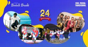Colegio Bertolt Brecht celebra 24 años de labor educativa